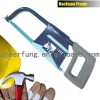 HACK SAW FRAME WITH GRAY ALUMINIUM HANDLE AND SQUARE TUBE