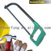 HEAVY DUTY OVAL TUBE ADJUSTABLE HACKSAW FRAME WITH ALUMINUM HANDLE