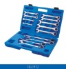 HL1973 13pcs Ratchet Combination Wrench Set
