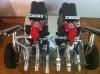 HVLP 2KE spray machine to apply bitumen emulsions