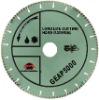 Hand-held high speed laser welded turbo diamond blade for long life cutting hard material---GEAP