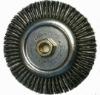 Heavy duty Twisted Steel Wire Wheel Brush