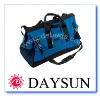 Heavy duty water repellent polyester tool bag