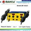 Hot Air SMD Rework Station BK-602D(LED digital display two handle )