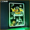 Hot sell full color led menu board for outdoor