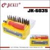 JK-6035, mobile repairing (S-2 31in1 screwdriver set),CE Certification