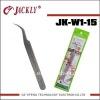 JK-W1-15,stainless steel hihg quality tweezer,CE Certification.