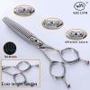 Japanese steel baber scissors LK-626Z
