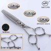 Japanese steel hair scissors LK-626Z