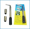 L telescopic wheel wrench