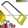 LIGHT DUTTY SQUARE TUBE HACKSAW FRAME WITH PLASTIC HANDLE