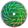 Laser Welded Continuous Turbo Segmented Small Diamond Blade for Hard Masonry Material ---MABJ