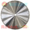 Laser Welded Segmented Small Diamond Blade for Fast Cutting Hard and Dense Material -- GEWF