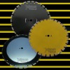 Laser saw blade: 500mm asphalt cutting blade