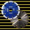 Laser welded saw blade: 125mm turbo saw blade