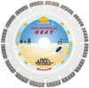 Laser welded segment-turbo diamond Saw blade for long life cutting general material -- GEAY