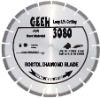 Laser welded segmented small diamond blade for long life cutting critically hard and dense material -- GEEH