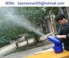 Motor mist sprayer for pest control