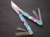 Multi tool,a various & colourful multi-function garden tool with transfer printing