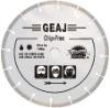 Narrow-gap segmented diamond balde for hard an brittle chip-free cutting---GEAJ
