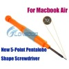 New 5-Point Star Shape Screwdriver for new style Macbook Air laptops