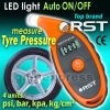 New RST Digital Tire Air Pressure Gauge w/ 5 - 150 Psi