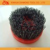 Nylon circular stone brush