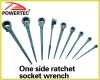 One side ratchet Socket wrench