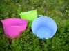 PE tubtrug bucket,recycle garden storage bucket