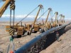 Pipe lifting sling, pipeline sling, lowering in belt styelt