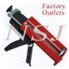Professional Dual Sealant Caulking Gun,825ml 10:1 Caulking applicator, Plastic dispensing gun for coatings, epoxy resins