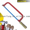SOUTH AFERICA TYPE HEAVY DUTY HACKSAW FRAME WITH WOODEN HANDLE AND FLAT STEEL