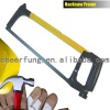 SQUARE TUBE HACKSAW FRAME WITH BLACK ALUMINUM HANDLE