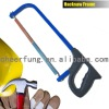 SQUARE TUBE HACKSAW FRAME WITH FINGER SHAPE PROTECTIVE HANDLE