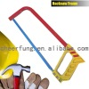 SQUARE TUBE HACKSAW FRAME WITH HEAVY DUTY CASTING ALUMINUM