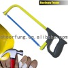 SQUARE TUBE HACKSAW FRAME WITH PLASTIC HANDLE