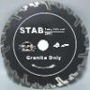 (STAB)Deep teeth segmented diamond blade for long life cutting granite