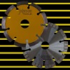 Saw blade: 125mm laser welded saw blade for concrete