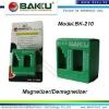 Screwdriver magnetizer and demagnitizer tool