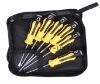 Screwdriver of zipper bag screwdriver set phillips slotted 213-6A