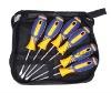 Screwdriver of zipper bag screwdriver set phillips slotted 225-6A