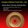 Semi-circular Oscillating Carbide Saw Blade Fits MultiMaster Bosch
