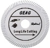 Slant turbo diamond saw blade for long life cutting hard and dense material(GEAG)
