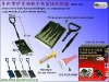 Snow shovel multi-function flashlight ice scrape group sets G801-CX