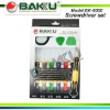 Soft Gum Handle Screwdriver set BK-6000
