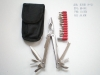 Stainless steel multi tool, with 12pcs screw bits