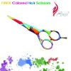 Styling Pop Art Tattoo Hair Scissors