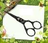 Stylist Zinc Alloy Grip Tattoo Hair Scissors