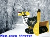 Super gasoline snow thrower