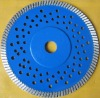 T-421 Diamond Cold Pressed wave Turbo Saw Blade